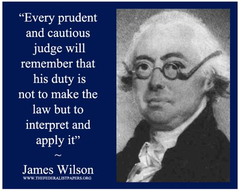washington state judge constitutional obligation to act james wilson the federalist papers