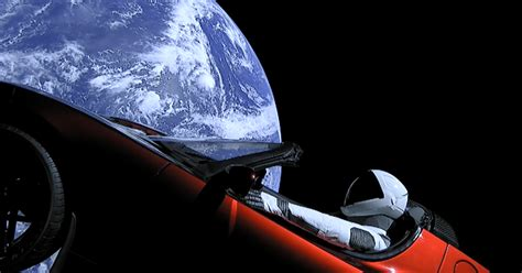 elon musk electric truck elon musk sends electric car to space aboard world s most