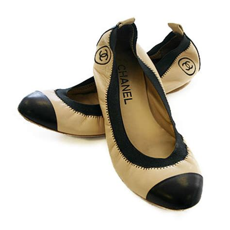 Channel Flat i orla kiely chanel ballet flats the look for less