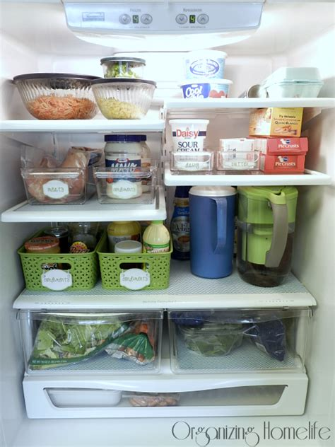 lifestyle organizing a new way to think my organized fridge and a fridge coasters giveaway