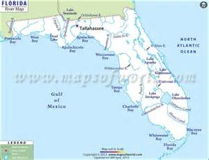 florida river map florida river map map