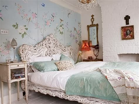shab chic bedroom wallpaper throughout shabby chic bedroom