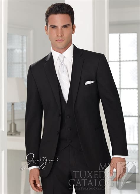 43 Black Suit Black Tie Wedding, Black Wedding Suit Black