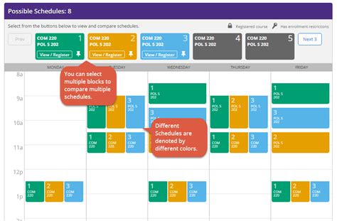 schedule builder myplan schedule builder student systems help center