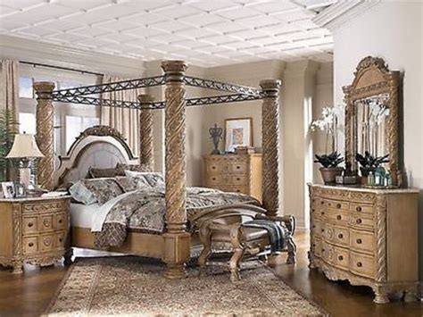 king canopy bedroom sets sale ashley furniture south shore king poster canopy bed
