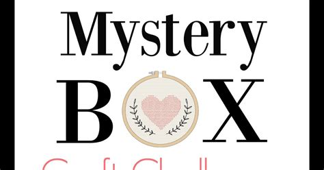 mystery crafts for mystery craft challenge participants and prizes