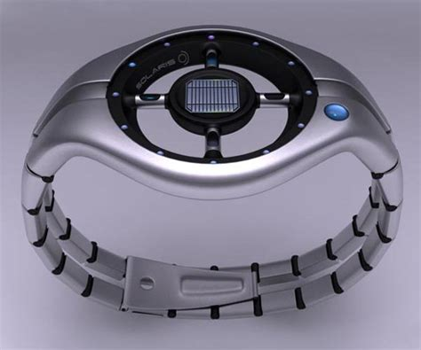 Design Concept Watches | solaris solar watch design concept gadgetsin
