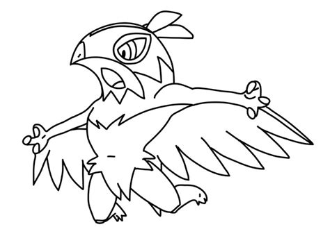 pokemon coloring pages hawlucha mega hawlucha pokemon coloring pages coloring pages