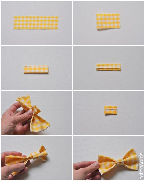 How To Make A Bow Tie Out Of Paper - the velcro bow tie tutorial