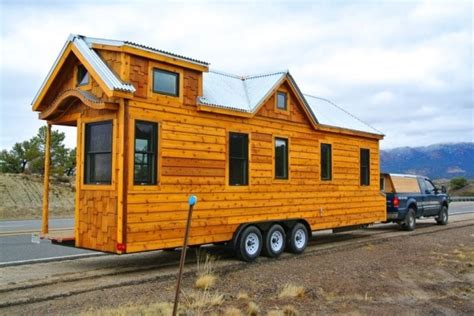 small house on wheels superb craftsmanship defines this 30 tiny house on wheels