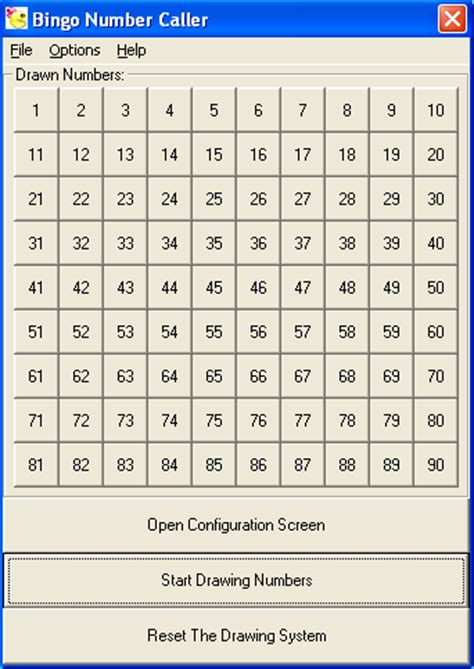 bingo calling cards template bingo call sheet images