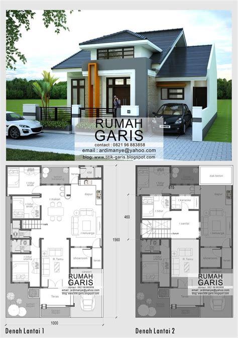 desain rumah 8 x 12 desain model denah dan tak rumah minimalis 2 lantai di