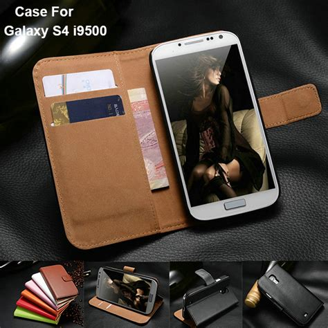 Promo Nilkin Stylish Leather Samsung Galaxy S4 I9500 Free Hd Sc for sumsung galaxy s4 i9500 leather book style stand mobile phone bag flip card slot wallet