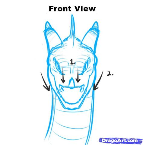 front view grch pinterest dragon head front view pictures to pin on pinterest