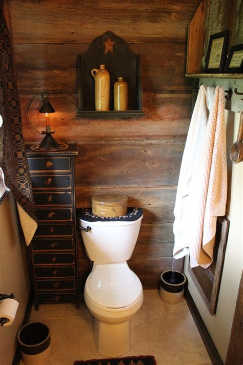 primitive bathroom sets 1000 ideas about primitive bathrooms on pinterest