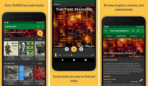audiobooks for android 20 best android audiobook app websites for free audio books