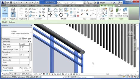 revit tutorial revit architecture 2014 tutorials for autodesk revit architecture 2014 tutorial railing