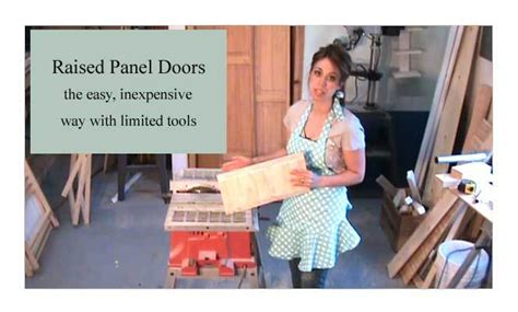 ana white raised panel cabinet doors diy projects