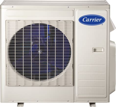 Water Heater Outdoor Ac carrier 38mgqc183 18 000 btu mini split outdoor air conditioner with heat basepan heater