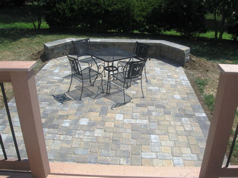 patio pavers lowes patio design tips to maintain your