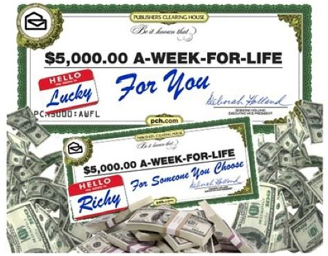 Publishers Clearing House Front Page - front door sweepstakes entry form autos weblog