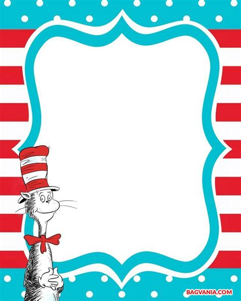 dr seuss birthday card template free printable dr seuss birthday invitations free