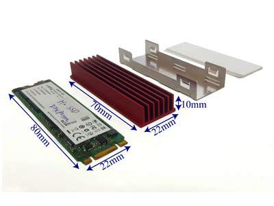 Ssd Heat Sink mpk ssd2280m2 heat01 2280 ngff ssd m2 heat sinks heatsink