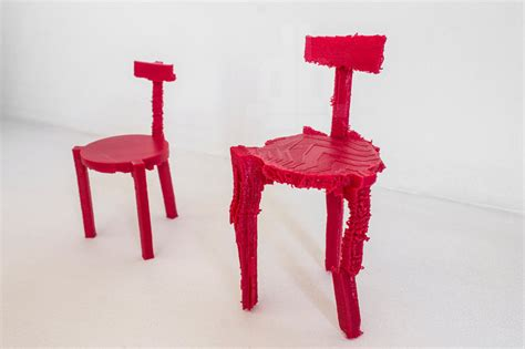 3d Printed Mini Designer Chair 3d Printed Chairs Made From Noise By Estudio Guto Requena Meta D