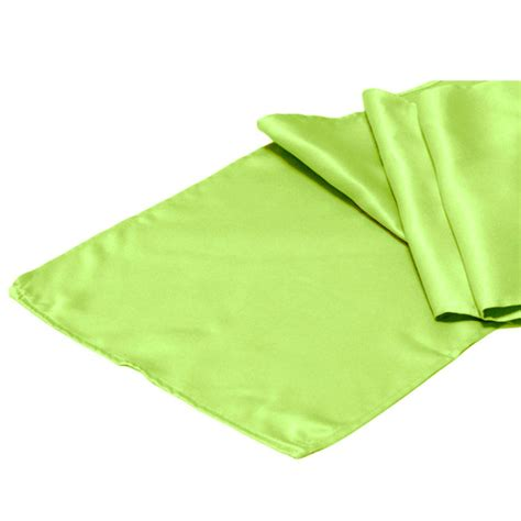 lime green table runner lime green satin table runner