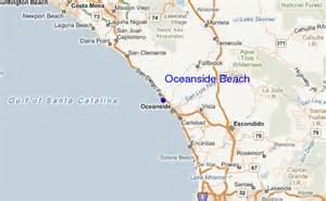 where is oceanside california on a map oceanside california map