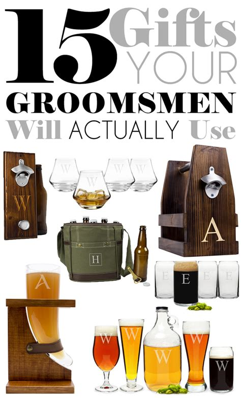 what are groomsmen gifts 15 gifts your groomsmen will actually use