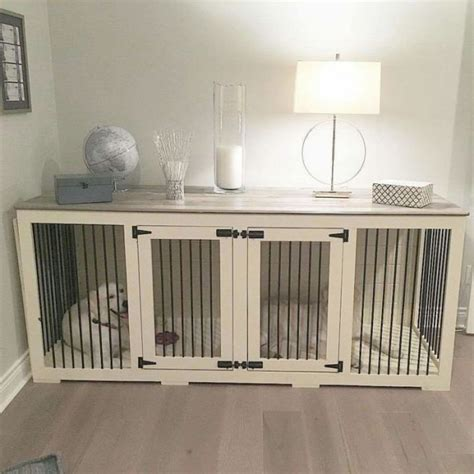 crates that look like furniture decorative kennels home ideas