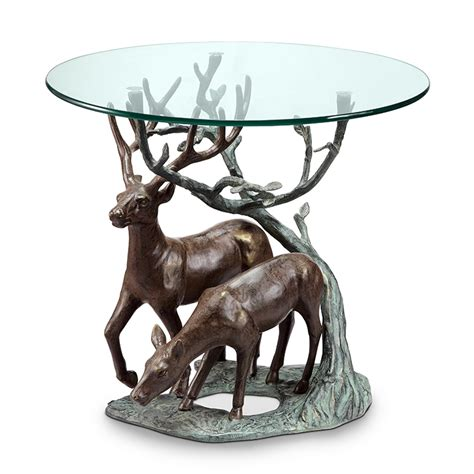 deer pair end table by spi home 583 you save 216 00