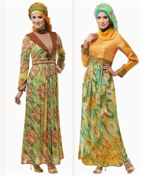 Baju Muslim Modern 2015 model busana muslim wanita modern 2015 terbaru 2017