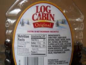 Log Cabin Syrup Ingredients does anyone prefer pancake syrup real maple syrup