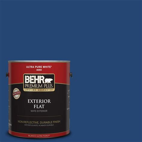 behr premium plus ultra 8 oz s h 580 navy blue interior exterior paint sle s h 580u the