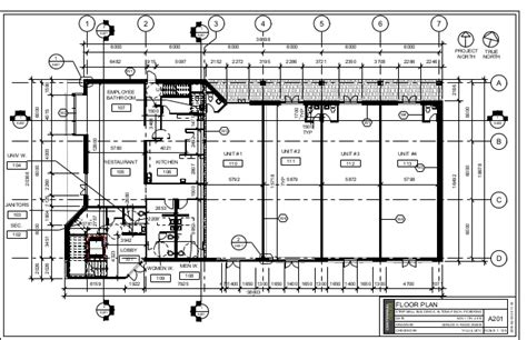 strip mall floor plans strip mall