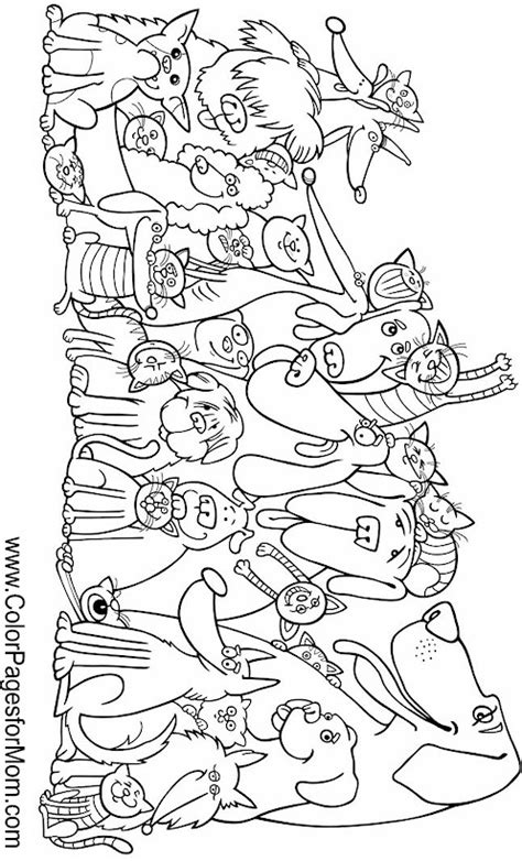 advanced coloring pages of animals free coloring pages of animal bookmarks
