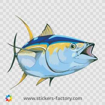 yellowfin boat decals stickers factory decal yellowfin tuna 05957 flickr