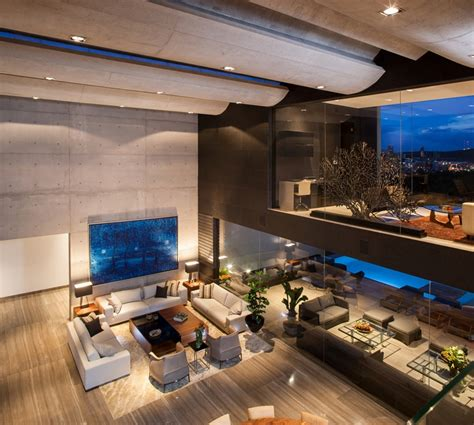 interior modern homes world of architecture dominant modern mansion by glr arquitectos