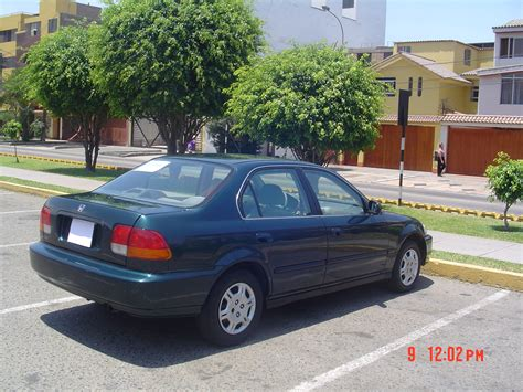 1996 Honda Civic Sedan by Vendo Honda Civic Ex Sedan 1996