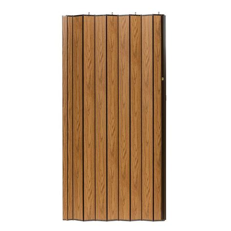 Spectrum Accordion Doors by Spectrum 48 In X 96 In Woodshire Vinyl Laminated Mdf