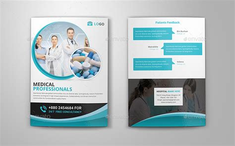 free bi fold templates for brochures medical healthcare brochures templates creative template
