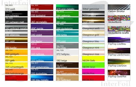 Autofolierung Farben by Folien Und Farben