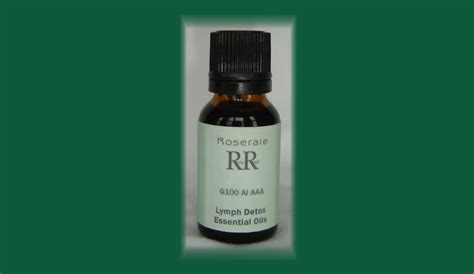 Ammt Lymph Detox by Rr040 G100 Ai Aaa Lymph Detox Essential Oils 15ml Aroma