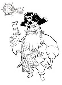 Pirate Skull And Sword Coloring Page Pages sketch template