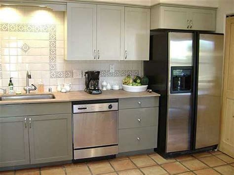 two color kitchen cabinet ideas ideas for painted kitchen cabinets rustic crafts chic decor