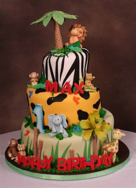 jungle themed birthday cake jungle theme birthday cake this one already has maxs