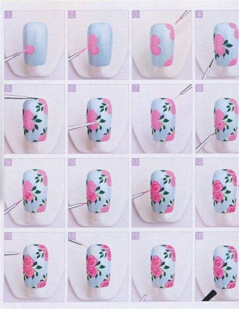 Muster Nägel 17 Best Images About Nail Step By Step On Tutorial Nails Nail Nail And Manicures