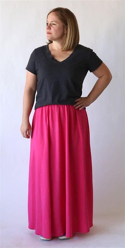 Everyday Maxi everyday maxi skirt favecrafts